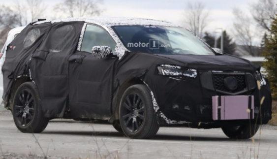 На тестах помічений кросовер Acura RDX нового покоління