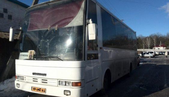 На дорогах України помітили рідкісний автобус (Фото)