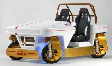 NASA похвалилось концептом інопланетного авто (Відео)