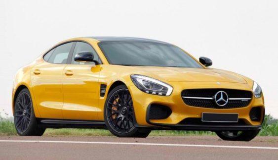 Mercedes-AMG представить новий седан в Женеві