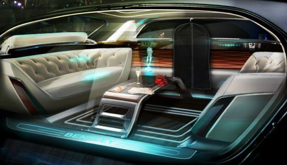 В автомобилях Bentley появится «голографический дворецкий»