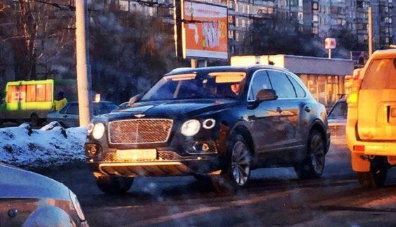 В Україні з'явився новий найдорожчий позашляховик Bentley (Фото)