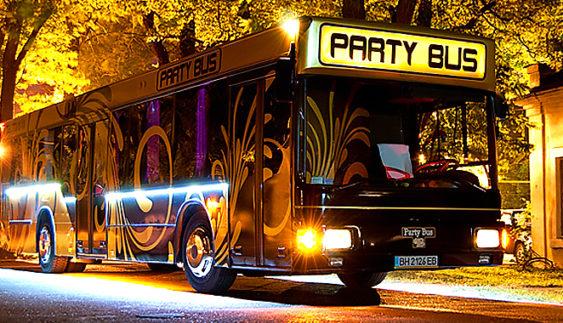 Переваги замовлення PARTY BUS