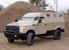 Скоро дебютує патрульний бронеавтомобіль «Чорний ворон» (Фото)