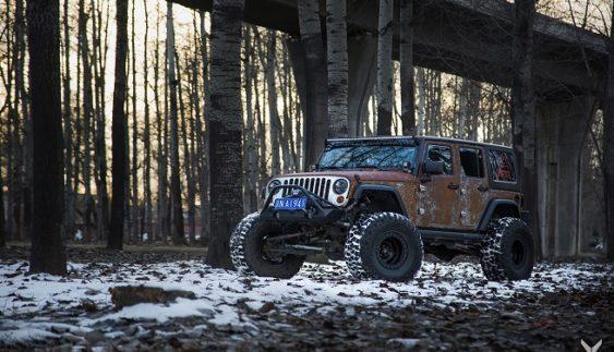 Jeep Wrangler отримав несподіваний дизайн (Фото)