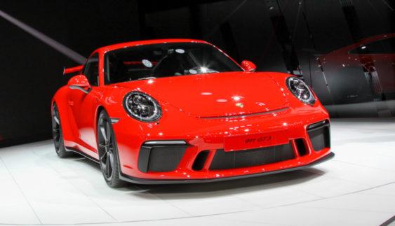 Продемонстрували оновлений Porsche 911 GT3