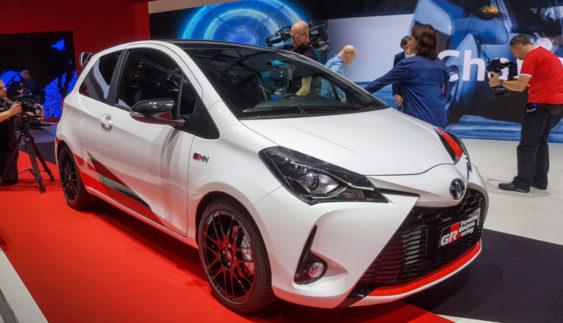 "Продемонстрували ""заряджену"" Toyota Yaris (Фото)"