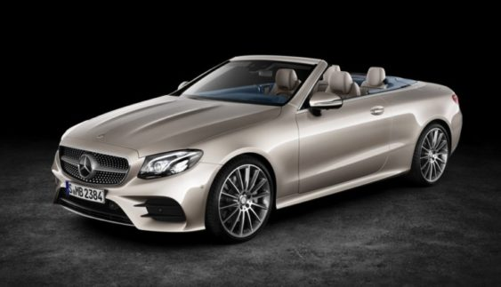 Компанія Mercedes-Benz розсекретила кабріолет E-Class