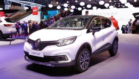 Renault в Женеві представила оновлений Captur