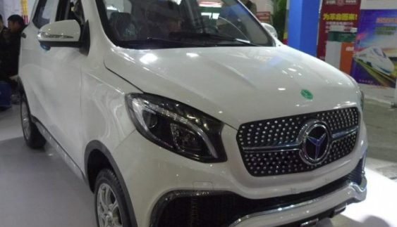 Китайці зібрали копію Mercedes за $ 3300 (Фото)