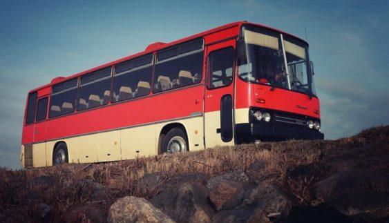 Останній автобус Ikarus зняли з маршруту (Фото)