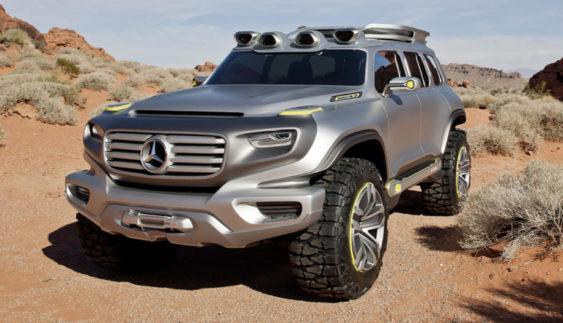 Новий Mercedes-Benz GLB отримає зовнішню схожість з Гелендвагеном