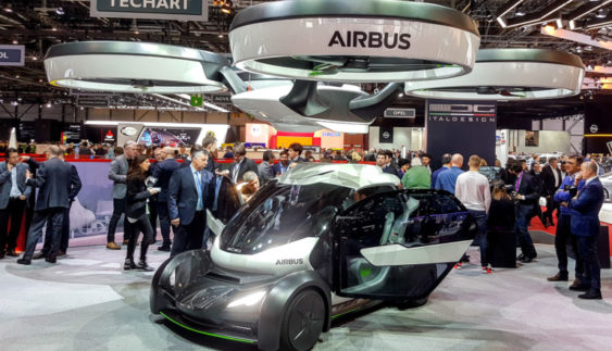 Літаючий автомобіль Airbus зміг здивувати (Фото)