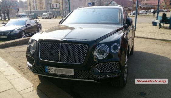В Україні помічений «найдорожчий» кросовер у світі