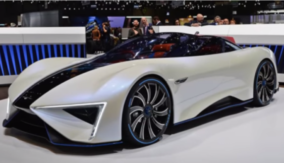 Китайці показали гібридний суперкар з шістьма моторами (Фото)