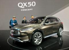 Продемонстрували Infiniti QX50 з революційним двигуном