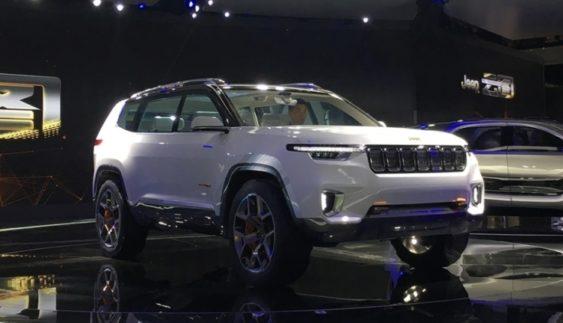Jeep представив гібридний кросовер
