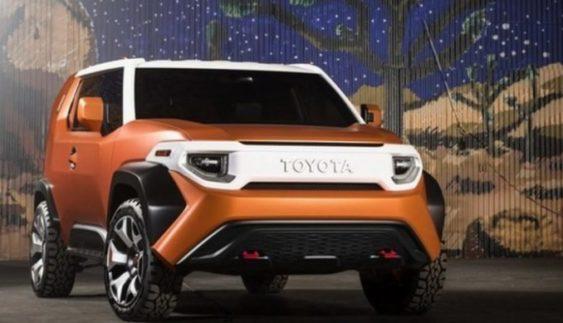 Розсекречено «новий» позашляховик Toyota FJ Cruiser