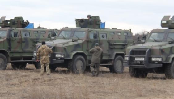 Розповіли про особливості модернізованого українського бронеавтомобіля (Фото)