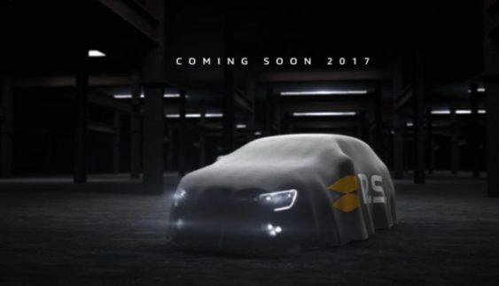 Renault Megane RS 2018: в мережі з'явилося перше зображення нового хетчбека
