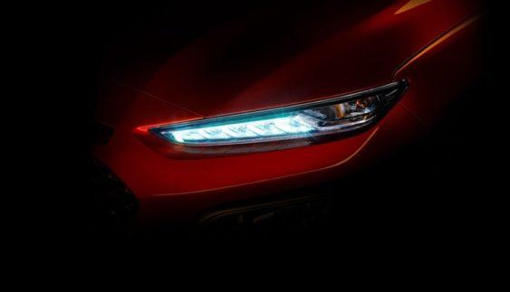 Опубліковано перше зображення нового кросовера Hyundai Kona