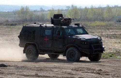 """Нацгвардію озброїли броньованим """"Козаком-5"""" (Фото)"""