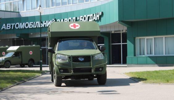"""""""Богдан"""" випустив нову військову машину (Фото)"""