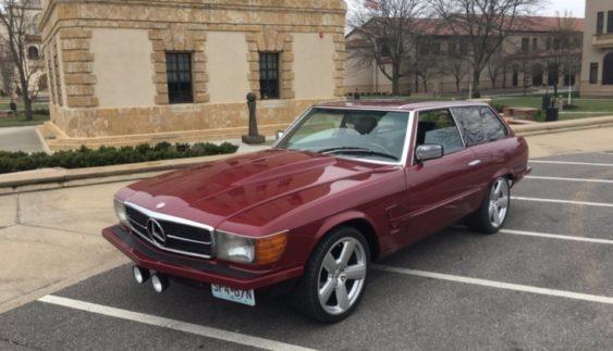 Єдиний в світі універсал Mercedes SL продають за ціною ЗАЗ Віда
