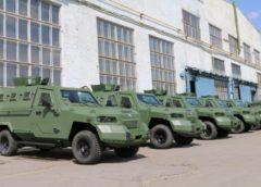 ЗСУ отримали новітні бронемашини «Кугуар»