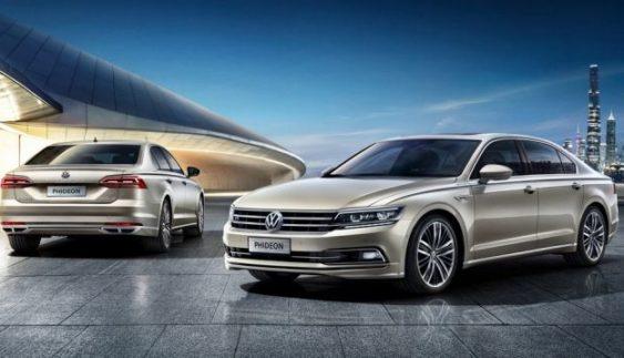 Volkswagen представить гібридний Phideon