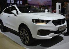 Great Wall презентував новий люксовий кросовер WEY VV5