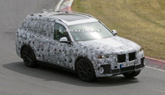 Флагманський кросовер BMW X7 проходить тестування (Фото)