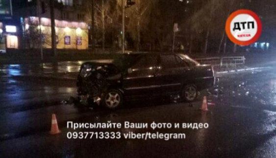 П'яний водій спровокував ДТП в столиці