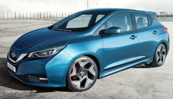 Новий Nissan Leaf 2018 зможе проїхати до 500 км без підзарядки