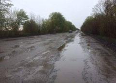 Важлива українська траса «пішла» під воду (Фото)