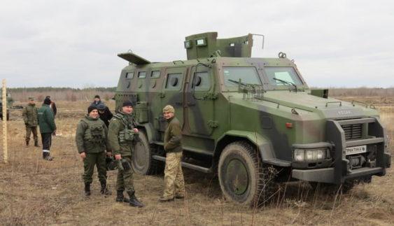 """Бронеавтомобіль """"Козак-2"""" прийнятий на озброєння ЗСУ (Відео)"""
