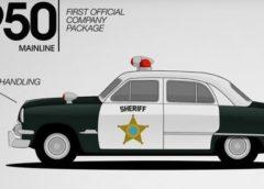 Як змінювалися поліцейські автомобілі за 67 років (відео)