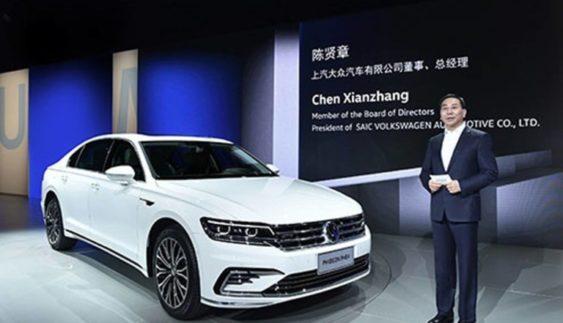 Volkswagen представив гібридний седан Phideon