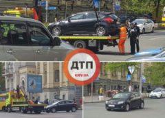 Карма наздогнала автохама в центрі Києва