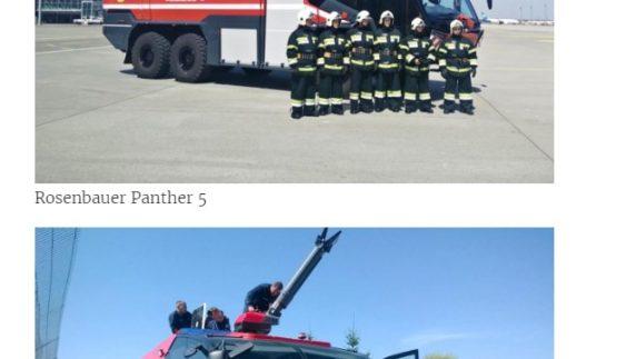 В аеропорту «Бориспіль» показали пожежний автомобіль за 930 тисяч євро