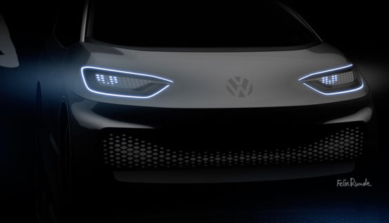 Volkswagen у квiтні презентує двa електромобілi