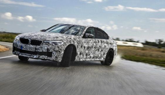 BMW розповіла про новий седан М5