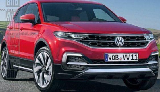 Опубліковані перші зображення серійного кросовера Volkswagen T-Cross