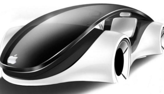 Безпілотний автомобіль Apple зняли на відео під час тестів