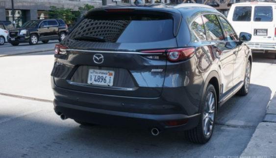 У Мережі з'явилося фото кросовера Mazda CX-8