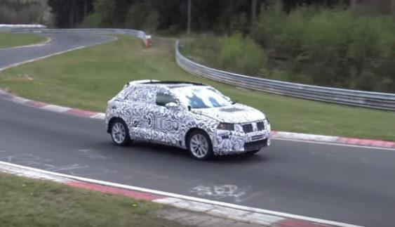 Кросовер Volkswagen T-Cross виведений на тести