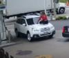 Хоробра дівчина оригінально завадила грабіжникові викрасти свою машину (Відео)