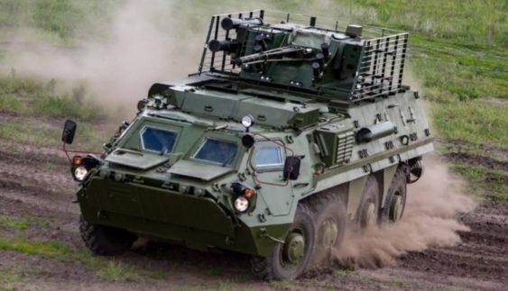 На Харківщині показали вдосконалені бронемашини для ЗСУ (Відео)