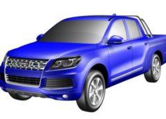 Китайський «клон» Volkswagen Touareg перетворили на пікап (Фото)