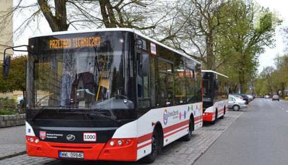 ЗАЗ поставив пасажирські автобуси в Польщу (Фото)